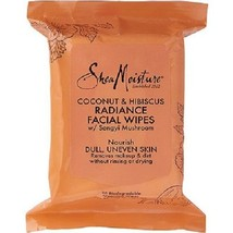 Shea Moisture Coconut & Hibiscus Radiant Facial Wipes - $12.82