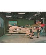 Vintage Postcard Curtiss P-40N Warhawk Wright Patterson Air Force Base Ohio - $5.93