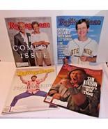 Rolling Stone 4 Magazines 1980s Comedy Carson David Letterman Robin Will... - $23.71