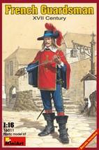 Miniart Models - 16011 - French Guardsman XVII Century - $17.99
