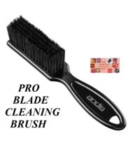 2-ANDIS CLIPPER BLADE CARE MAINTENANCE CLEANING BRUSH Also for Oster,Wah... - $15.68