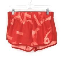 Adidas Donna Activewear Pantaloncini Corsa Misura Piccolo 3 'Rosso Stampa Tirare image 1