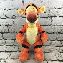 "The Disney Store 16"" Tigger Plush Soft Beanbag Stuffed Animal Winnie The Pooh - $16.82"
