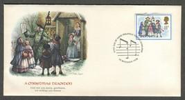 Nov 22 1978 FDC Christmas Tradition #GB 849 SG 1073 Fleetwood - $14.99