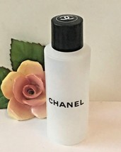 Preowned CHANEL Refillable Travel Size Plastic Bottle CC Logo - $15.83