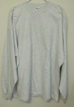 Mens Nwot Gildan Gray Long Sleeve T Shirt Size Xxxl - $12.95