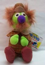 "TYCO Sesame Street Bean Bag SHERLOCK HEMLOCK 9"" STUFFED ANIMAL Toy NEW - $19.80"