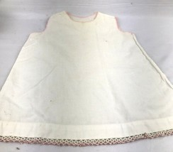 AS IS Vintage Antique Baby Dress Slip Photo Prop Display Doll Crochet Ed... - $20.00