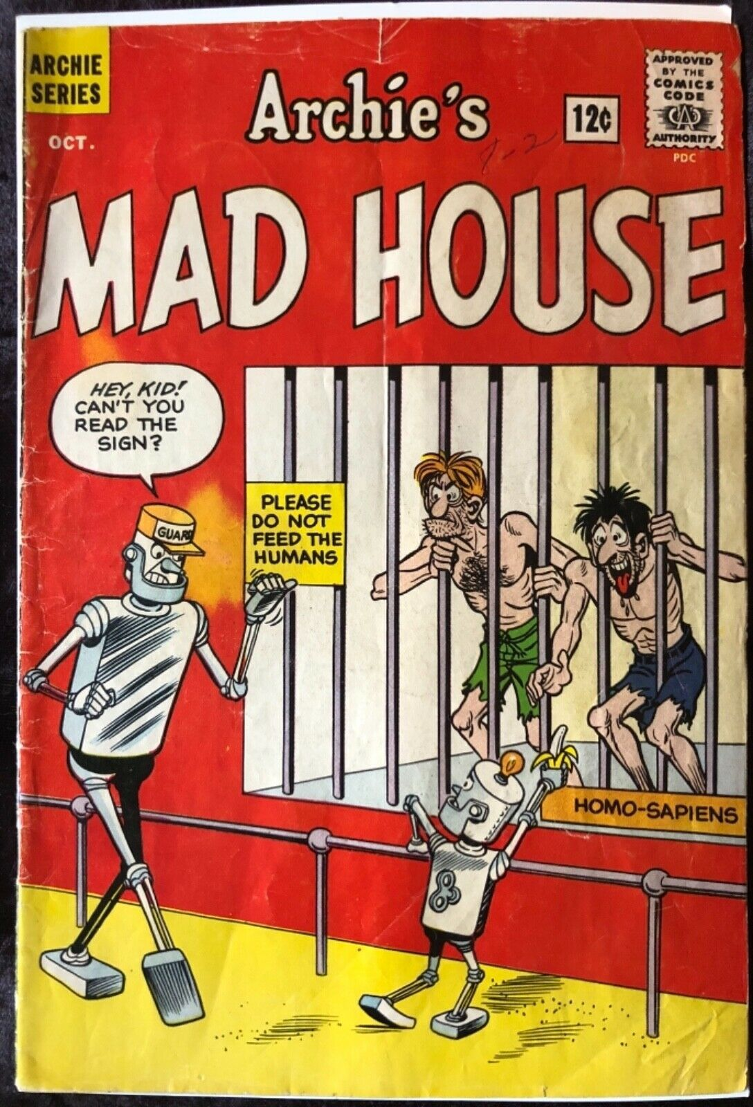 Archie Comics Archie's Madhouse 22 - First Appearance of Sabrina - Approx 3.5