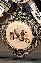 Disney Parks M is for Main Street USA ABC Letters Keychain NEW - $19.90