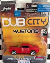 Jada Toys Dub City Kustoms Wave 14 153 '06 Dodge Challenger Concept 2006... - $7.28