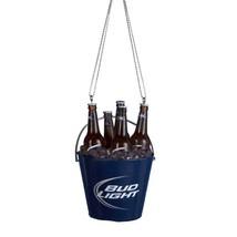 New Budweiser Bud Light Bottles In Bucket Cooler Ornament - $9.44