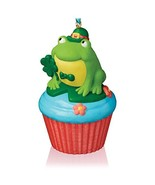Hallmark Keepsake Ornament Lucky Leap-rechaun Keepsake Cupcake Series 2016 - $4.95