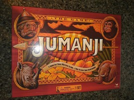 Jumanji Wood Play Pieces Board Game Full Sized Cardinal 2017 Edition Complete - $21.77