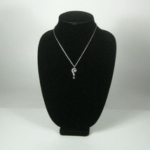 Trifari Necklace Women Men 18 In VTG 1960s Estate Silvertone Pendant Pop Art - $247.49