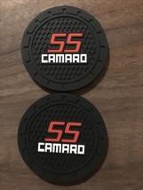 Silicone Anti Slip Car Logo Coasters for Most Cars, Trucks, RVs 2 in Set... - $7.91