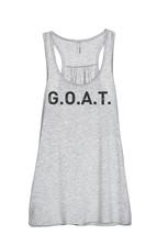 Thread Tank G.O.A.T. (Greatest Of All Time) 902Xw Women's Sleeveless Flowy Racer - $24.99+