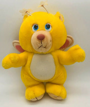 Wuzzles Butterbear Plush Toy 1984 Hasbro Softies Walt Disney Productions - $21.77
