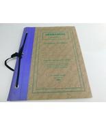 Vintage Herbarium Monarch Series Botanical Specimens Book Form 571 Unuse... - $162.94