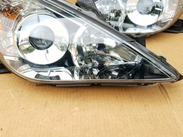 07-08 Toyota Solara OEM Halogen Headlight Lamp Matching Set Pair L&R - POLISHED image 2