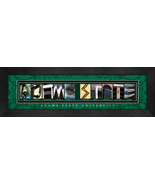 Adams State University Officially Licensed Framed Campus Letter Art - $39.95