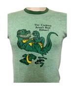 Vtg 80's Girl Scouts T Shirt Tri Blend Single Stitch Ringer MED Crocodil... - $49.49