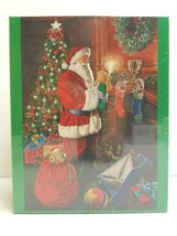 Brother Sister Christmas Party Oversized 1000 Pc Santa Xmas Puzzle Fun G... - $26.72