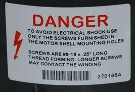 US Motors 5457 PSC Condenser Fan Motor K055SSF5457862B Boxed image 5