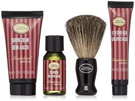 The Art of Shaving 4 Piece Mini Kit, Sandalwood image 1