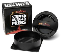 Grillaholics Stuffed Burger Press and Recipe eBook - Extended Warranty -... - $18.92