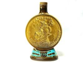 Jim Beam San Diego 200th Anniversary 1769-1969 Padre Whiskey Bottle Deca... - $39.55