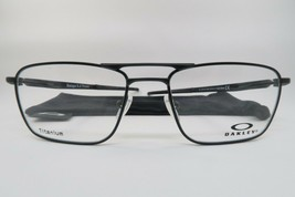 New Authentic Oakley OX5127-0453 Satin Black Eyeglasses 53/17/142 w/ Cloth Bag - $103.46