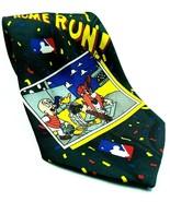 Looney Tunes MLB Baseball Elmer Fudd Daffy Yosemite Sam Taz Home Run Tie - $13.46