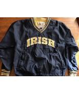 Champion Notre Dame Fighting Irish Vintage Pullover Jacket Large ND Medi... - $20.43