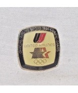 United Airlines Olympics 1984 Official Airline Logo Lapel Pin Los Angele... - $14.84