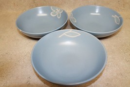 Set of 3 Soup/Cereal/Pasta Bowls- The Blossom Collection By Baum Bros. - $12.20