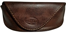 Fossil Leather Eyeglass Case--Brown - $6.00
