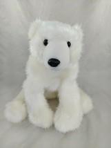 "The Petting Zoo White Polar Bear Plush 12"" Stuffed Animal Toy - $16.95"