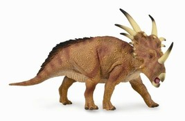 <>< Breyer CollectA 88777 Styracosaurus Deluxe dinosaur  well made heavy - $26.99