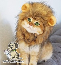 Lion Mane Costume for Cat Large - $16.38