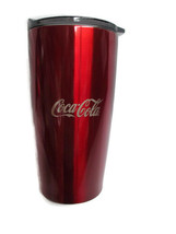 Coca-Cola Stainless Steel Red Double-Walled Insulated Tumbler 20 oz - BR... - $17.08