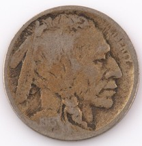1913-D 5C $.05 Type 2 Buffalo Nickel Good Condition, Complete Date & Min... - $117.81