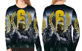 Women Sweatshirt Rainbow Six Siege - $30.99+