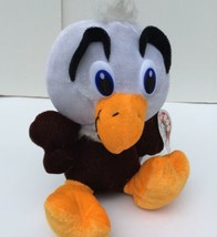 "Peek A Boo Toys Eagle Plush Stuffed Animal Brown White Orange Bird 6"" Toy - $8.93"