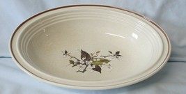 Royal Doulton Lambethware Wild Cherry LS1038 Oval Serving Bowl 10 1/2 - $27.61