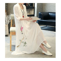 Vintage China Traditional   Style Loose Fit 2pcs Imitation Suit Evening ... - $35.99