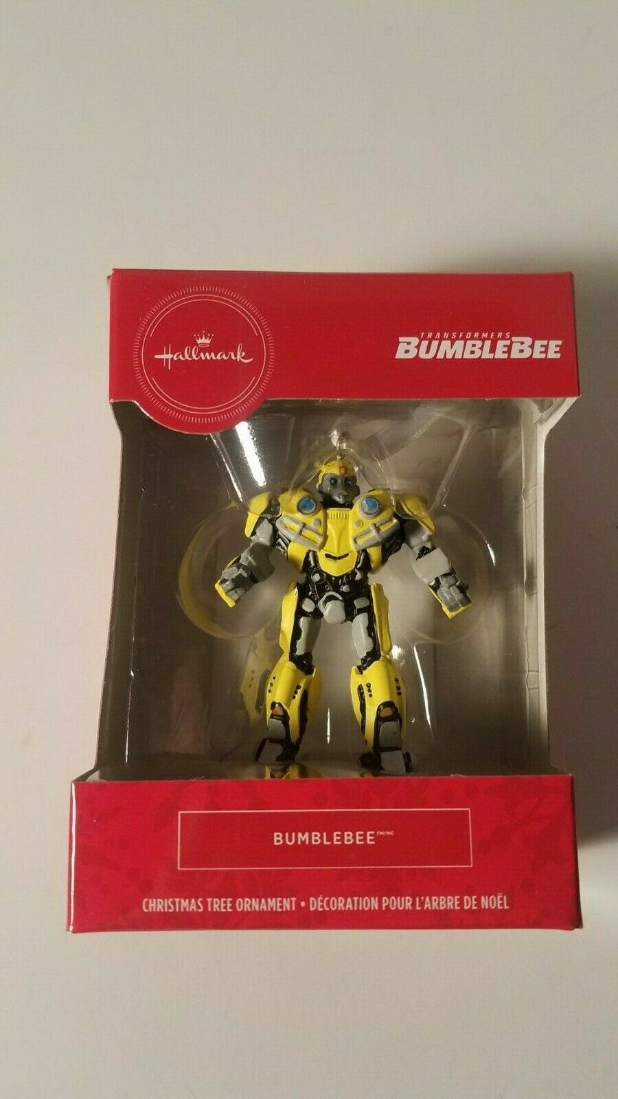 Primary image for hallmark ornament bumblebee transformers christmas tree decor new in box