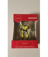 hallmark ornament bumblebee transformers christmas tree decor new in box - $20.95