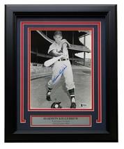 Harmon Killebrew Signed Framed 8x10 Washington Senators Photo BAS - $106.65