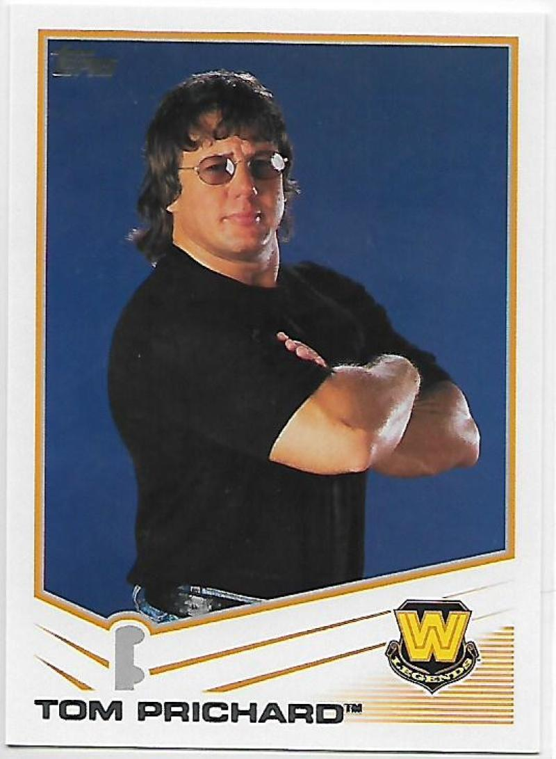 Primary image for 2013 Topps #108 Tom Prichard NM-MT